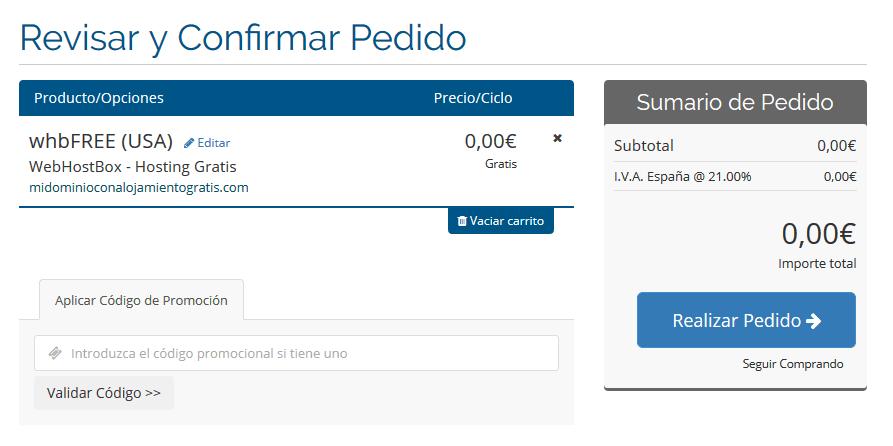 tutorial activar alojamiento gratis en dominio activo en seidonet